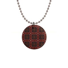 Check Ornate Pattern Button Necklaces by dflcprints