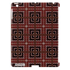 Check Ornate Pattern Apple Ipad 3/4 Hardshell Case (compatible With Smart Cover) by dflcprints