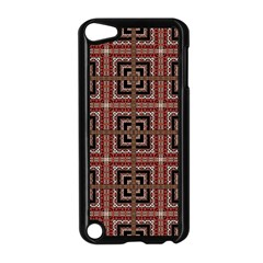 Check Ornate Pattern Apple Ipod Touch 5 Case (black) by dflcprints