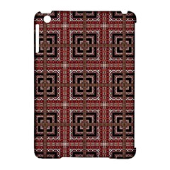Check Ornate Pattern Apple Ipad Mini Hardshell Case (compatible With Smart Cover) by dflcprints