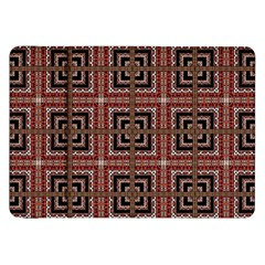 Check Ornate Pattern Samsung Galaxy Tab 8 9  P7300 Flip Case by dflcprints