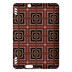 Check Ornate Pattern Kindle Fire Hdx Hardshell Case by dflcprints