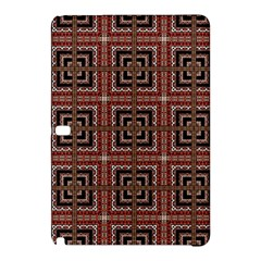 Check Ornate Pattern Samsung Galaxy Tab Pro 10 1 Hardshell Case by dflcprints