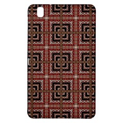 Check Ornate Pattern Samsung Galaxy Tab Pro 8 4 Hardshell Case by dflcprints