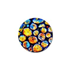 Woodpile Abstract Golf Ball Marker (4 Pack) by Costasonlineshop
