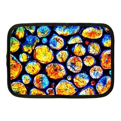 Woodpile Abstract Netbook Case (medium)