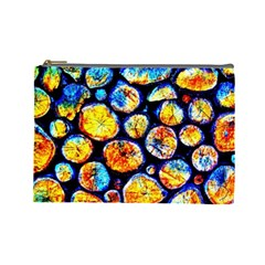 Woodpile Abstract Cosmetic Bag (large)  by Costasonlineshop