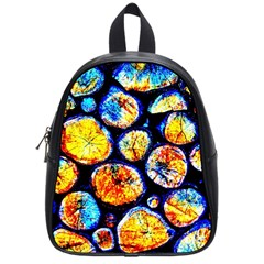 Woodpile Abstract School Bags (small)  by Costasonlineshop