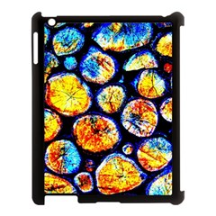 Woodpile Abstract Apple Ipad 3/4 Case (black)