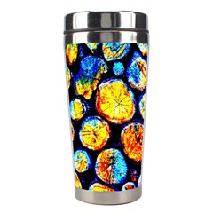 Woodpile Abstract Stainless Steel Travel Tumblers