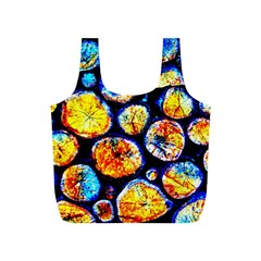Woodpile Abstract Full Print Recycle Bags (S)  by Costasonlineshop