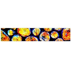 Woodpile Abstract Flano Scarf (large)