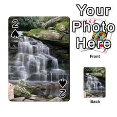 Elakala Falls Playing Cards 54 Designs