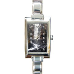Chapada Diamantina 5 Rectangle Italian Charm Watches by trendistuff