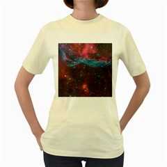 Vela Supernova Women s Yellow T Shirt