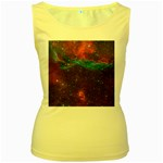 VELA SUPERNOVA Women s Yellow Tank Tops Front