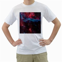 Vela Supernova Men s T Shirt (white) (two Sided)