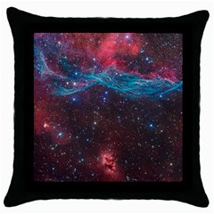 VELA SUPERNOVA Throw Pillow Cases (Black)