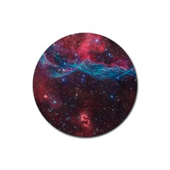 Vela Supernova Rubber Coaster (round)
