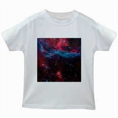 Vela Supernova Kids White T Shirts