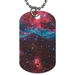 Vela Supernova Dog Tag (one Side)
