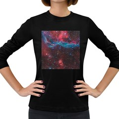 Vela Supernova Women s Long Sleeve Dark T Shirts