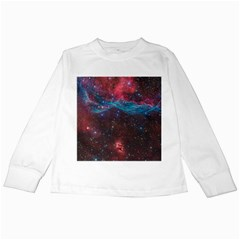 VELA SUPERNOVA Kids Long Sleeve T-Shirts