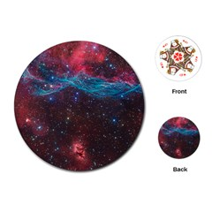 VELA SUPERNOVA Playing Cards (Round)