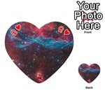 VELA SUPERNOVA Playing Cards 54 (Heart)  Front - HeartQ