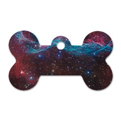 Vela Supernova Dog Tag Bone (two Sides)