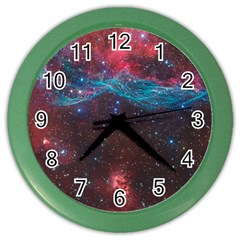 Vela Supernova Color Wall Clocks