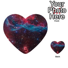 Vela Supernova Multi Purpose Cards (heart)