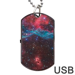 Vela Supernova Dog Tag Usb Flash (one Side)