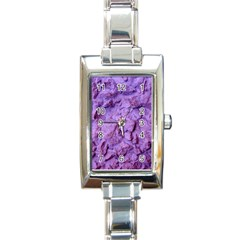 Purple Wall Background Rectangle Italian Charm Watches by Costasonlineshop