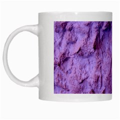 Purple Wall Background White Mugs by Costasonlineshop
