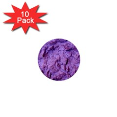 Purple Wall Background 1  Mini Buttons (10 Pack)  by Costasonlineshop