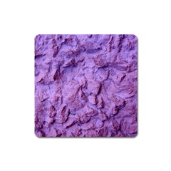 Purple Wall Background Square Magnet by Costasonlineshop