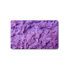 Purple Wall Background Magnet (name Card)