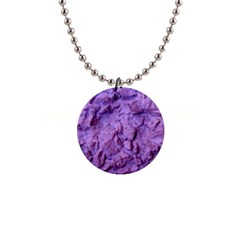 Purple Wall Background Button Necklaces