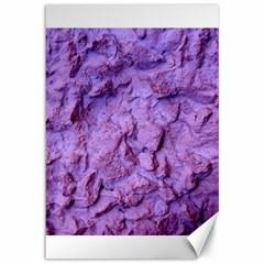 Purple Wall Background Canvas 12  X 18   by Costasonlineshop