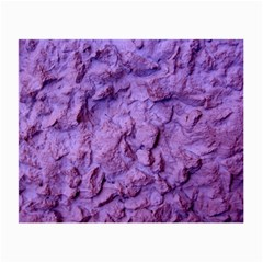 Purple Wall Background Small Glasses Cloth (2 Side) by Costasonlineshop