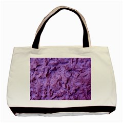 Purple Wall Background Basic Tote Bag (two Sides)  by Costasonlineshop