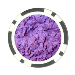 Purple Wall Background Poker Chip Card Guards by Costasonlineshop