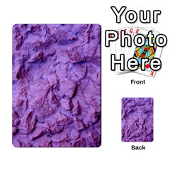 Purple Wall Background Multi Purpose Cards (rectangle)