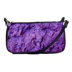 Purple Wall Background Shoulder Clutch Bags by Costasonlineshop