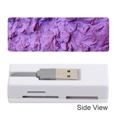 Purple Wall Background Memory Card Reader (stick)  by Costasonlineshop
