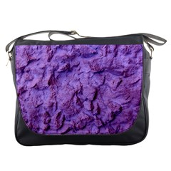 Purple Wall Background Messenger Bags by Costasonlineshop
