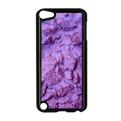 Purple Wall Background Apple Ipod Touch 5 Case (black) by Costasonlineshop