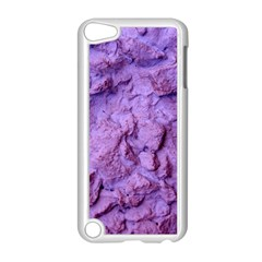 Purple Wall Background Apple Ipod Touch 5 Case (white) by Costasonlineshop