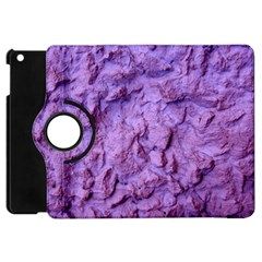 Purple Wall Background Apple Ipad Mini Flip 360 Case by Costasonlineshop